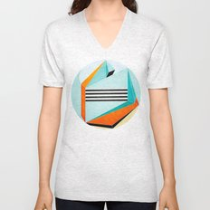 Stand Between and Listen Unisex V-Neck