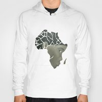 african Hoodies featuring African Continent by ArtSchool