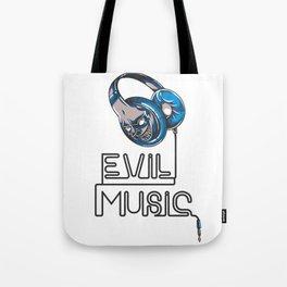 Evil Music Tote Bag