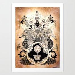 Materia VII Art Print
