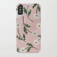 Daisies iPhone X Slim Case