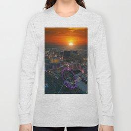 Sunset in Vegas Long Sleeve T-shirt