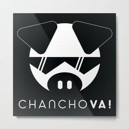 Chancho Va! Metal Print