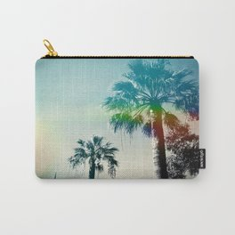 Palm trees of Barcelona Carry-All Pouch