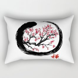 Japanese ENSO ZEN Buddhist SHIRT Rectangular Pillow