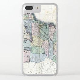 United States of America-W. & D. Lizars-1818 Clear iPhone Case