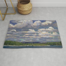 Tom Thomson - Summer Day - Canada, Canadian Oil Painting - Group of Seven Rug