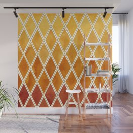 Autumn colors and  gold texture Wall Mural