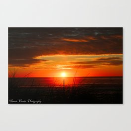 Ocean Sunset Canvas Print