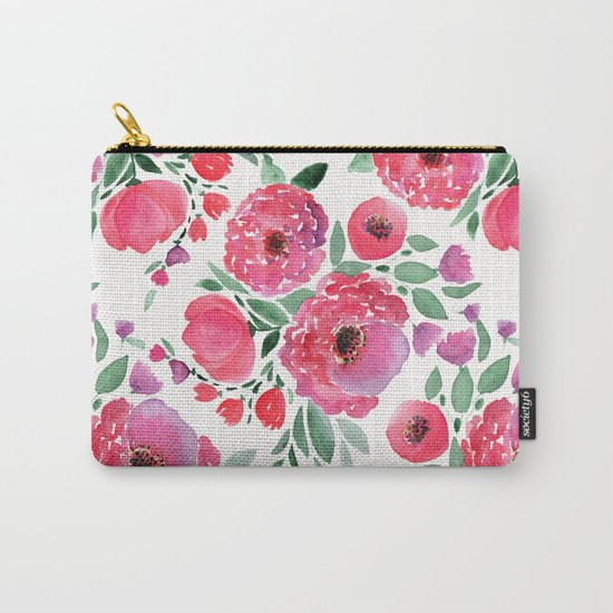 flower pattern 6 Carry-All Pouch