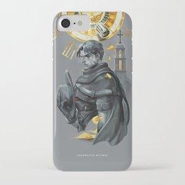 The falling sun iPhone Case