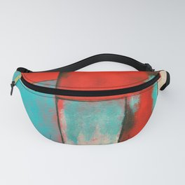 The Corners of My Mind, Abstract Painting Fanny Pack