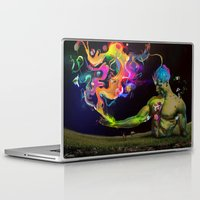 alchemy Laptop & iPad Skins featuring Alchemy Resonance by Archan Nair