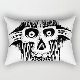 Skully Line Rectangular Pillow
