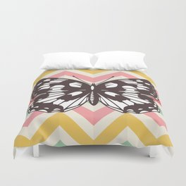 Colorful Butterfly Print - Buttefly Home Decor Duvet Cover