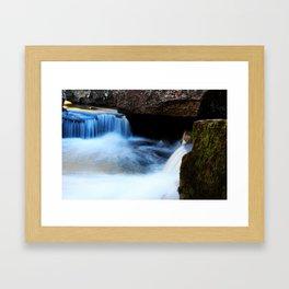 Waterfall.1 Framed Art Print