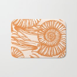AMMONITE COLLECTION ORANGE Bath Mat