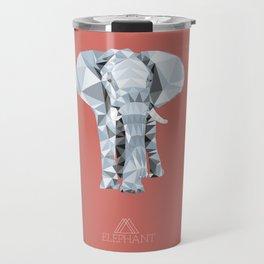 ELEPHANT /// ANIMALS LOVE TRIANGLES Travel Mug
