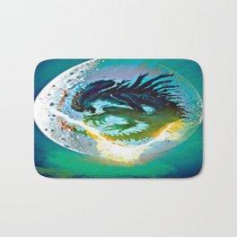 Monster Inside Egg Bath Mat