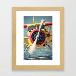 Seaplane Framed Art Print