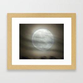 The Moon by Murray Bole Framed Art Print