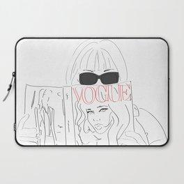 Voguestagram Anna Wintour Laptop Sleeve
