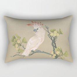 Moluccan Cockatoos Rectangular Pillow