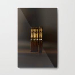 Golden pleasure Metal Print