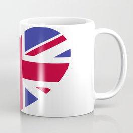 Union Jack Heart Coffee Mug