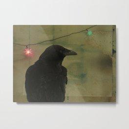Dark Crow Celebration Metal Print