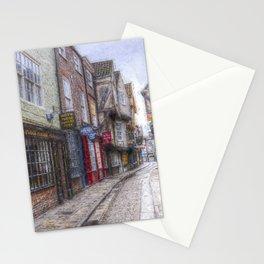 The Shambles York Art Stationery Cards