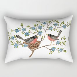 Robins Rectangular Pillow