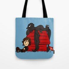 Dragon Peanuts Tote Bag