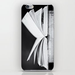 An Open Book iPhone Skin