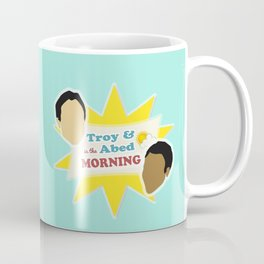 Community Troy & Abed in the Morning Coffee Mug