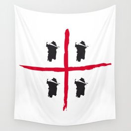 Sardegna, 4 volte Wall Tapestry