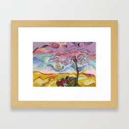 Trapped in Beauty Framed Art Print