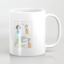 Not particularly interested Coffee Mug