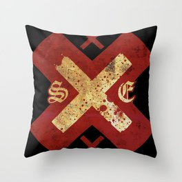Strage Edge xXx Throw Pillow