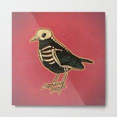 Dead Bird Metal Print