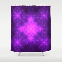 Sacred Energy Orbs Shower Curtain