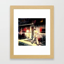 Dinner's Ready! Framed Art Print