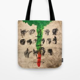 thug,stoner,young,life,slime language,music,rap,album art,fan art,cool,wall art,poster,painting Tote Bag