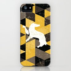 Hufflepuff House Pattern iPhone SE Slim Case