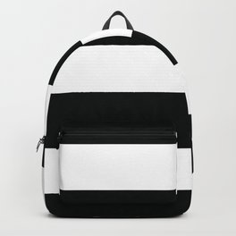 Classic Bold Stripes Pattern Backpack
