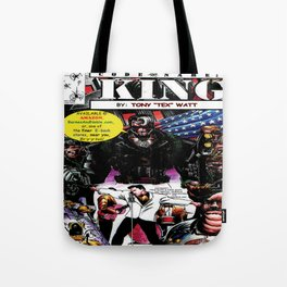 """Code Name: King""  - Comic Book Promo Poster  Tote Bag"