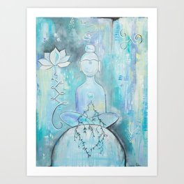 The Meditation Art Print
