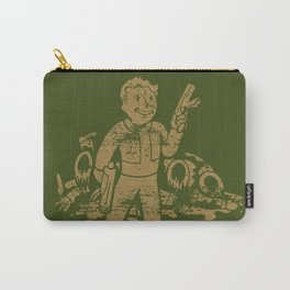 Fallout Vault Boy With Gun Carry-All Pouch