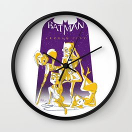 Arkham Pin-Ups Wall Clock