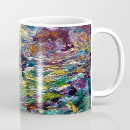 1910 Classical Masterpiece 'Ship on Stormy Seas' by Emil Nolde Coffee Mug